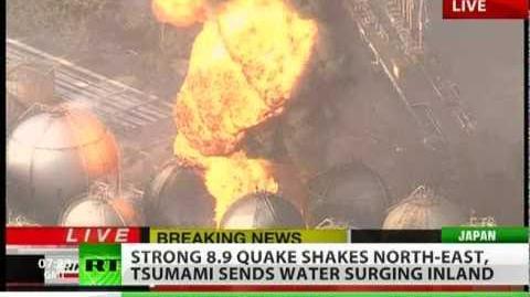 Strong 8.9 earthquake rocks Japan, tsunami hits North East