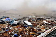 Destruction in Japan Earthquake 2011-1-