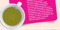 Secrets of Starbucks Green Tea Latte