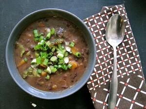 Azuki bean soup