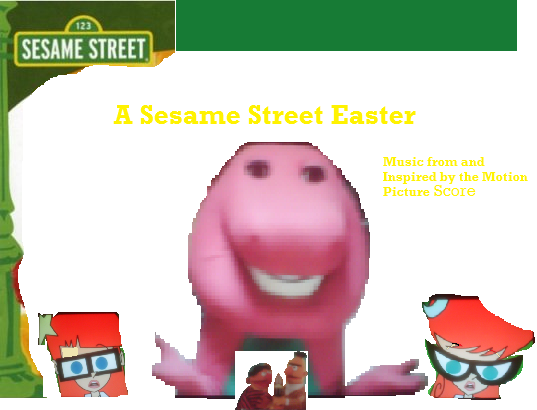 File:More A Sesame Street Easter CD.png