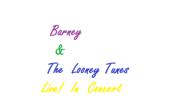 File:Barney & The Looney Tunes Live! In Concert Logo.png