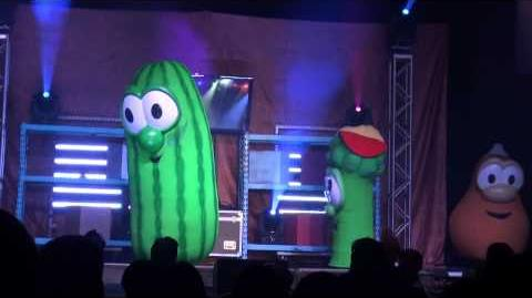Veggie Tales - Where's My Hairbrush - PA 2012