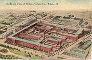 PostcardToledoWillysOverlandFactoryAerial1915