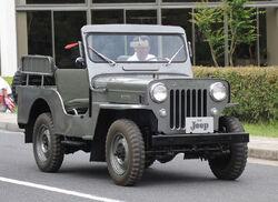 Mitsubishi 1955 Jeep
