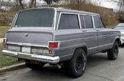 Jeep Wagoneeer rear