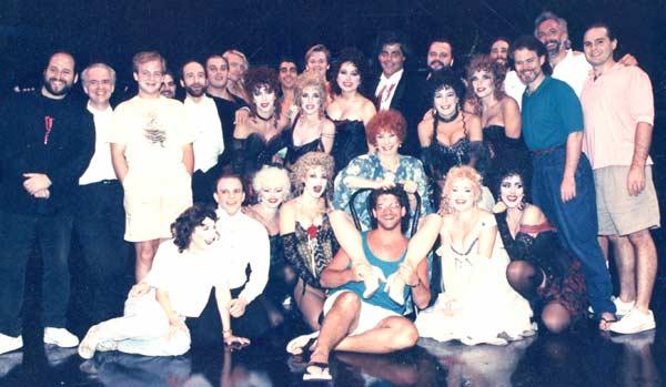 Jekyll and Hyde - Alley Theatre - Entire Cast and Crew - Frank Wildhorn, Greg Boyd, Linda Eder, Chuck Wagner, Bill Nolte, Shirley Maclaine, Rebbeca Spender, Nita Moore, Eddie Korbich