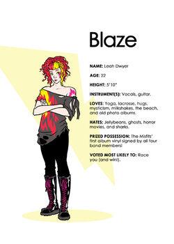 IDW Blaze character bio