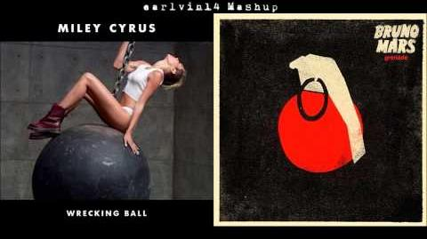 Wrecking Ball vs. Grenade (Mashup) - Miley Cyrus & Bruno Mars - earlvin14