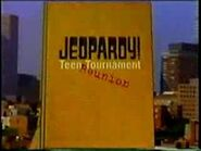 Jeopardy! Teen Tournament Reunion Season 15 Logo