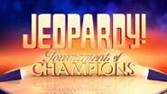 Jeopardy! Tournament of Champions Season 31 Logo