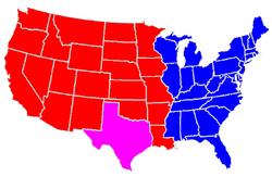 ASA-USA Jericho Map