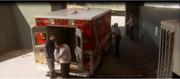 Gunman with ambulance