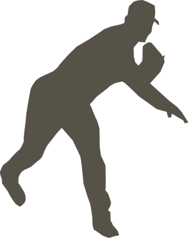 File:Baseball silhouette.png