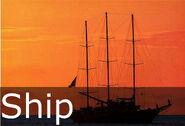 Ship caption
