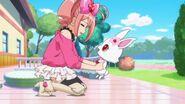 Pink's sighing
