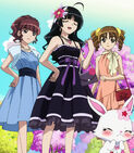 Kanon and friends in the last episode