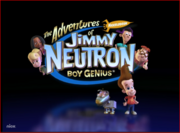 The Adventures of Jimmy Neutron title card