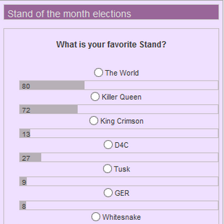 January 2013 Poll  - Favorite Stand