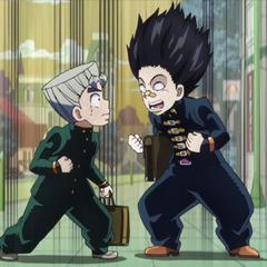 Toshikazu excited about manga.