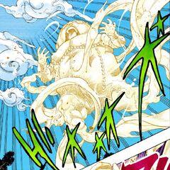 Shigechi as a ghost