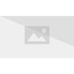 Gleefully caressing Minako's severed hand.