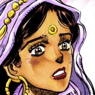 Nena's disguised face in the manga
