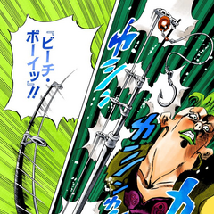 Revealing his Stand