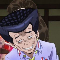 Making perverse comments about Koichi's sister.