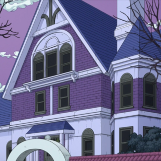 One of the houses in Ghost Girl's Alley