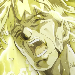 Rohan's ghost ascends to the heavens as he cries out in pain.