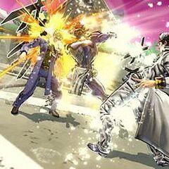 Part 4 Jotaro attacking, <i>EoH</i>