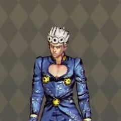Giorno Costume A in <i>All-Star Battle</i>
