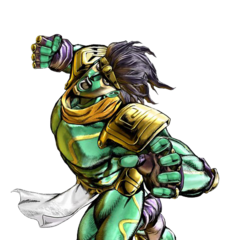 Star Platinum as it appears in <a href=