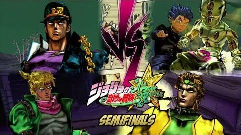 JoJo's Bizarre Adventure All Star Battle - Battle League SEMI-FINALS