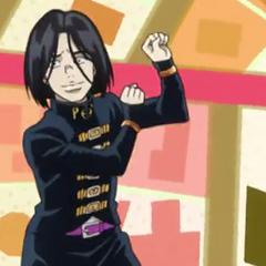 Toshikazu dancing in <i><a href=