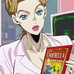 Aya explains her favorite story, <i>Cinderella</i>.