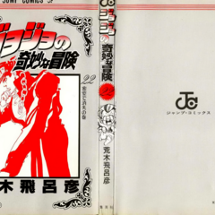The cover of Volume 22 without the dust jacket