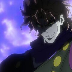 Dio appears again before Jonathan