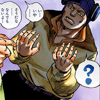 Thug's hands restored incorrectly.