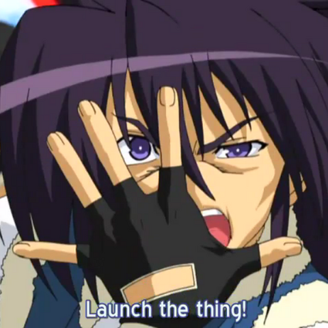 Eitaro making Joestar´s trademark facehand pose