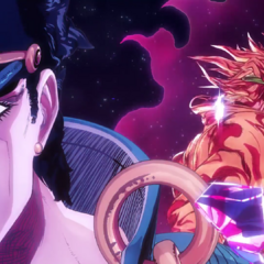 Jotaro (with DIO) featured in <i><a href=
