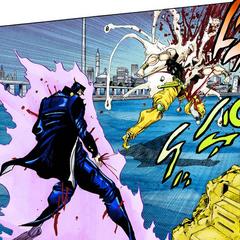 Jotaro kills DIO