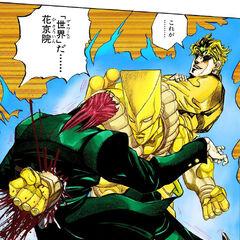 DIO kills Kakyoin