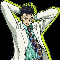 Key art of Kira as Kosaku