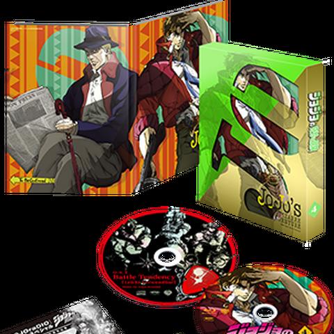 JoJo's Bizarre Adventure Vol.4 Limited Edition Blu-ray
