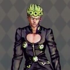 Giorno Costume D in <i>All-Star Battle</i>
