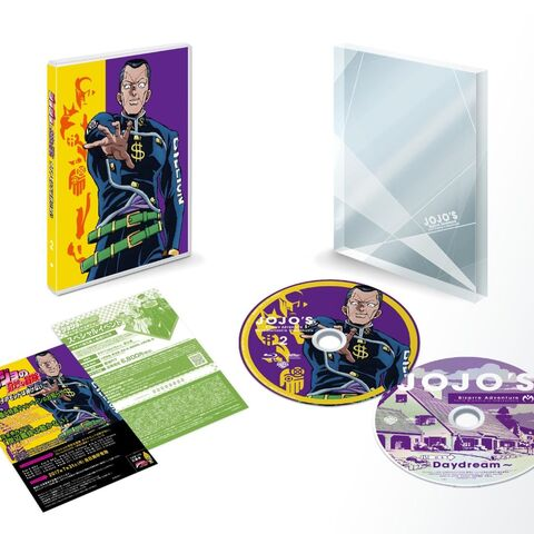 Limited edition Blu-Ray Volume 2 featuring Disc