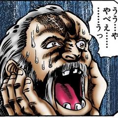 Close up of Dario in the manga