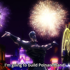 Polnareff talking about his